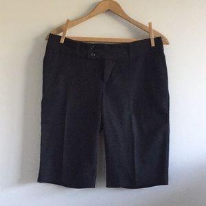 Mossimo black Bermuda shorts